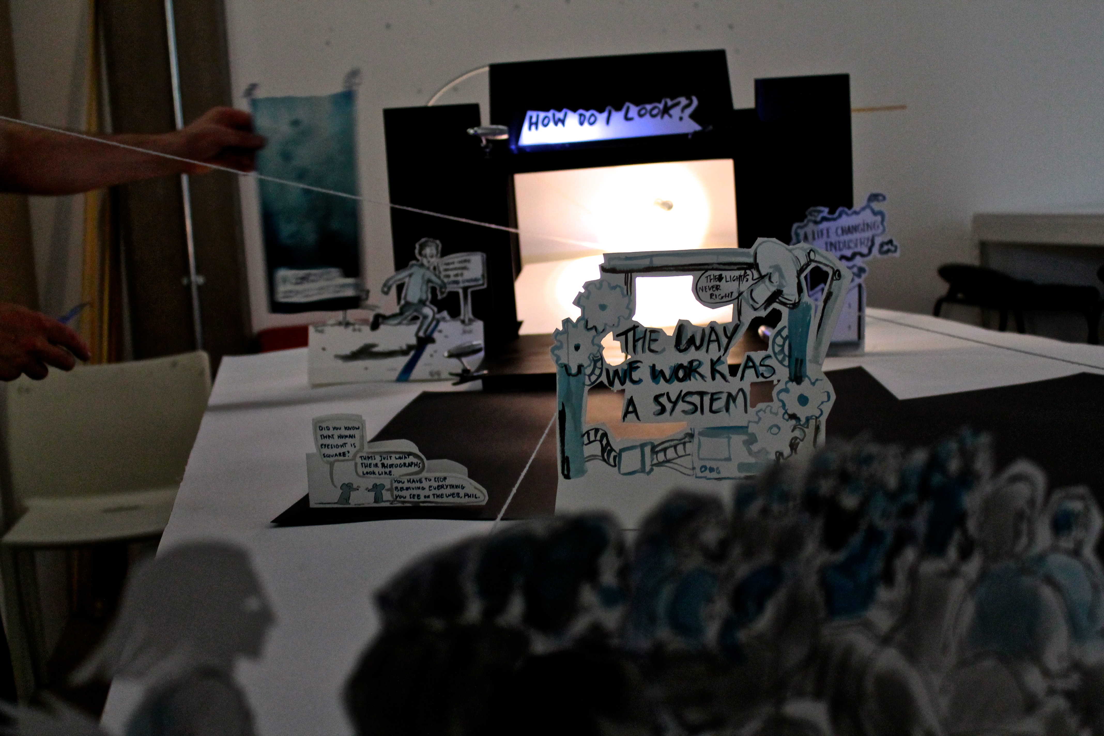 paper theater as tool for creative visualization