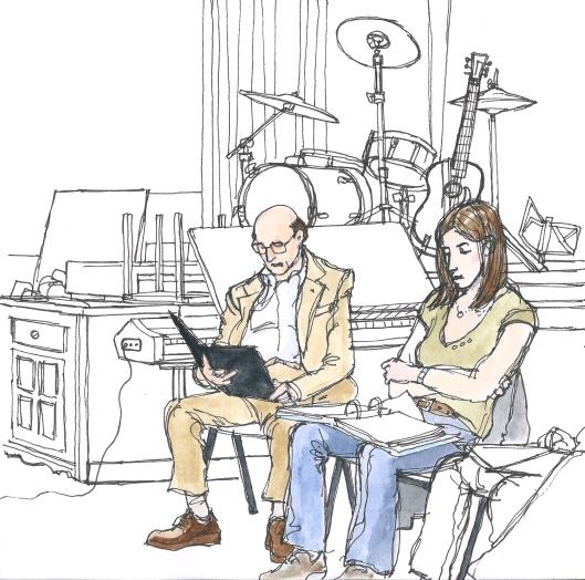 Ron_Moody_Rehearsal_WTC2006_CGlynn