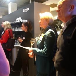 Helen Molyneux listening Photo: CG