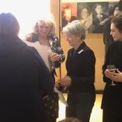 Yvette Vaughan-Jones et al admiring pic Jaccob Turner